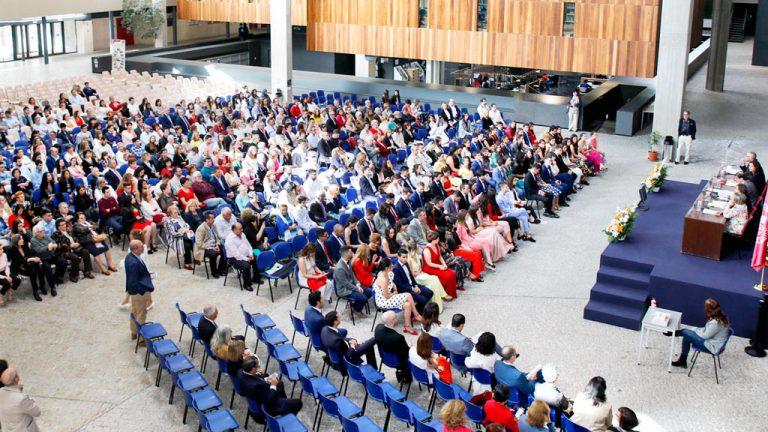 Más de 200 alumnos de la UVa se gradúan desde hoy en Segovia