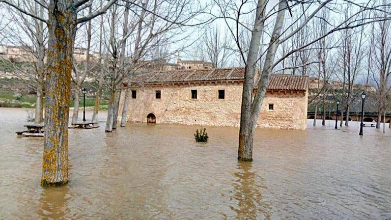 El PSOE presenta iniciativas por la inundación de la ermita de Maderuelo