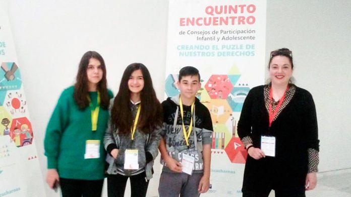 Representantes de San Cristóbal en el encuentro que se celebra en Oviedo. / el adelantado