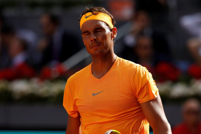 Rafa Nadal, en el Mutua Madrid Open.
