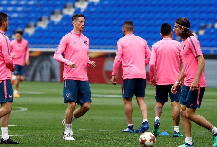 Fernando Torres será suplente en su último gran partido con el Atlético.