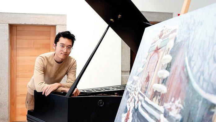 Do Xuan Hoang, en el Centro de Creatividad de IE University en la Casa de la Moneda. / Roberto Arribas.