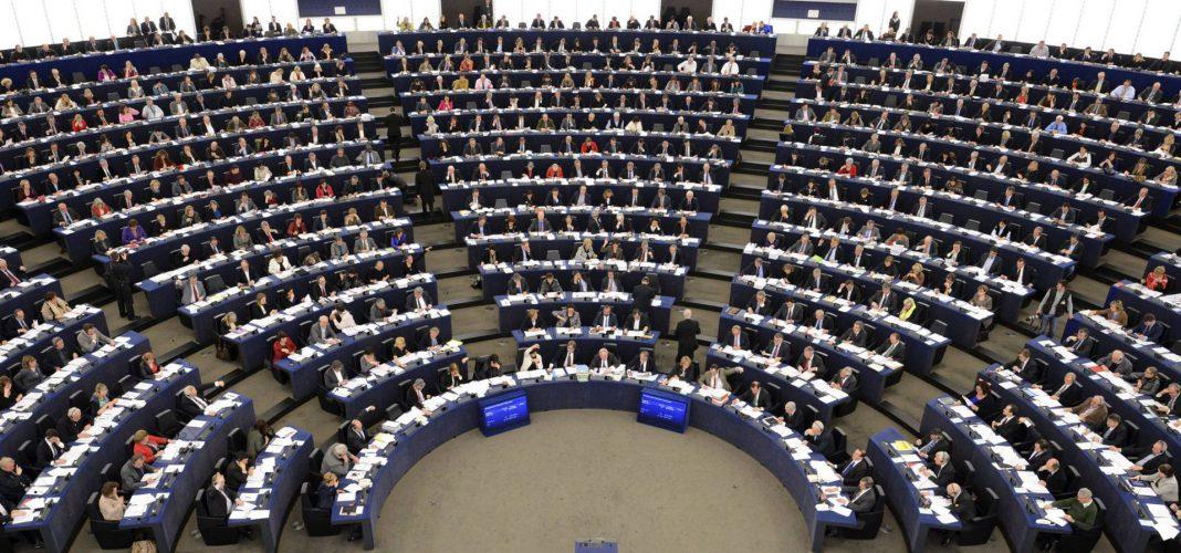 Imagen de archivo de una sesión en el Parlamento Europeo de Bruselas.