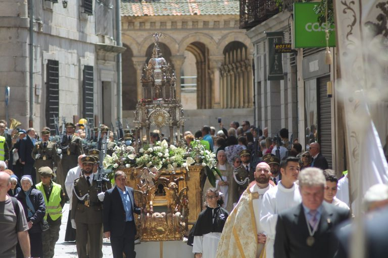 Galería fotográfica de la procesión del Corpus Christi