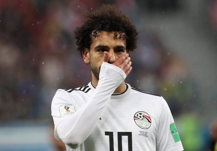 Salah, referente de Egipto, se despide de Rusia en el partido ante Arabia Saudí.