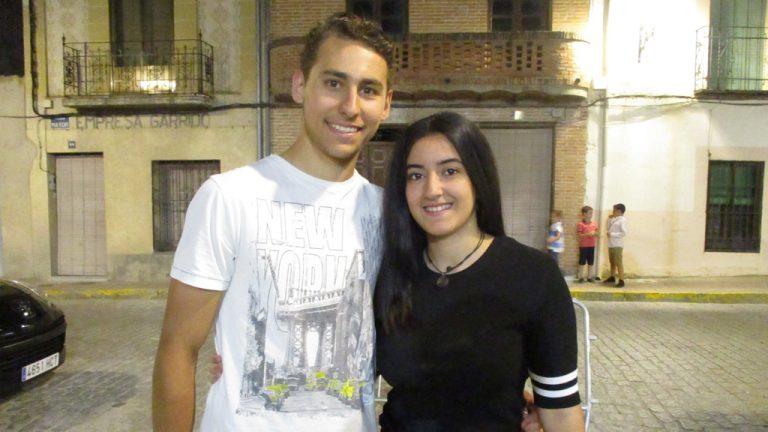 Fernando Matarranz y Clara Rico, elegidos 'Feo' y 'Maja'  de la Juventud