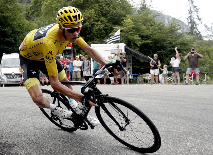 El ciclista Chris Froome durante el pasado Tour de Francia.