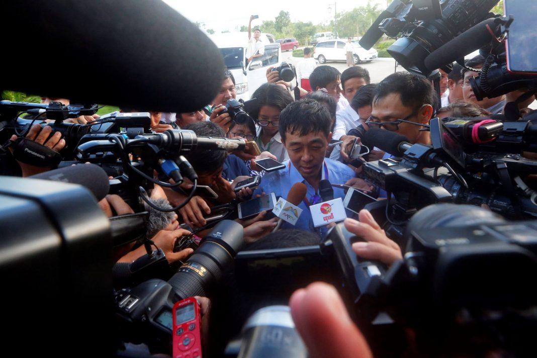 El comandante general Guan Maw, uno de los mandos del Ejército de Independencia Kachin.