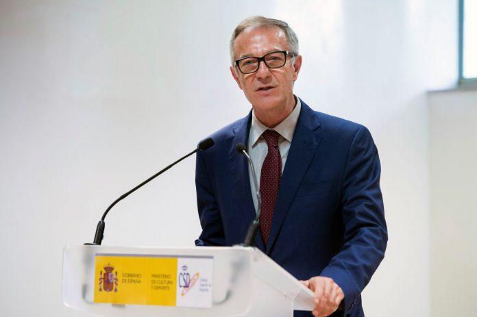 Rienda asume El ministro de Cultura y Deporte, José Guirao. / efe