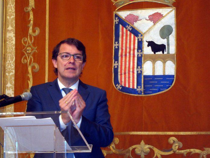 El presidente del PP de Castilla y León, Alfonso Fernández Mañueco.