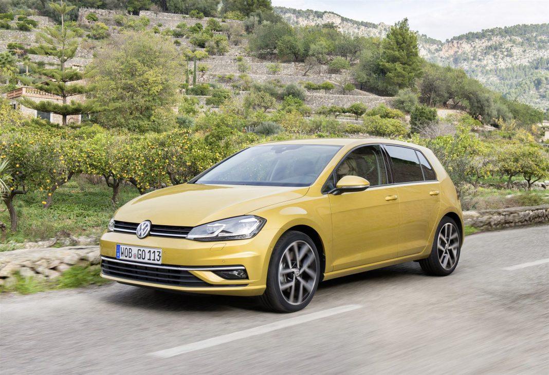 El Volkswagen Golf fue único modelo de coche español entre los cinco más vendidos de Europa.