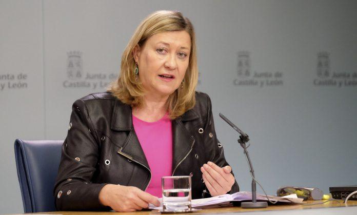 La consejera de Economía y Hacienda, Pilar del Olmo.