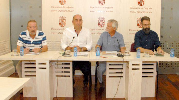 Un momento de la presentación del festival, ayer en la Diputación Provincial. / el adelantado