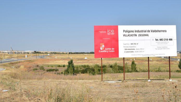 El Polígono Industrial Valdeherrera de Villacastín cuenta con unos 600.000 metros cuadrados de superficie junto a la carretera N-VI. / rocío pardos