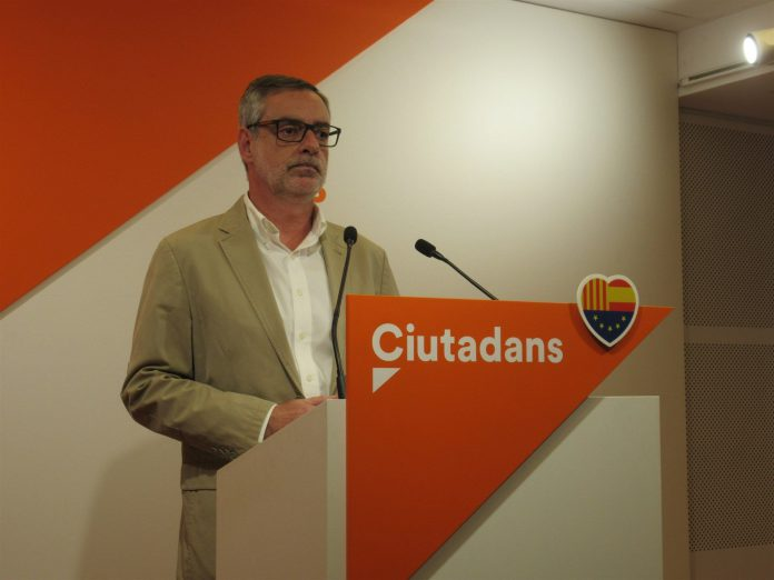 El secretario general de Ciudadanos, José Manuel Villegas.