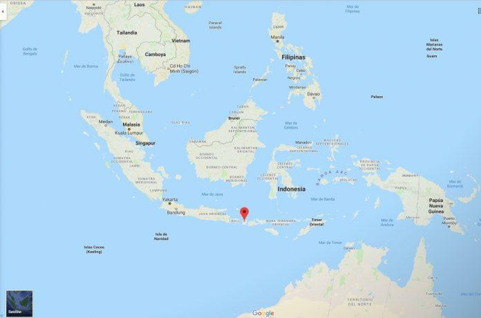 Ubicación de la isla de Lombok (Indonesia), afectada por el terremoto.