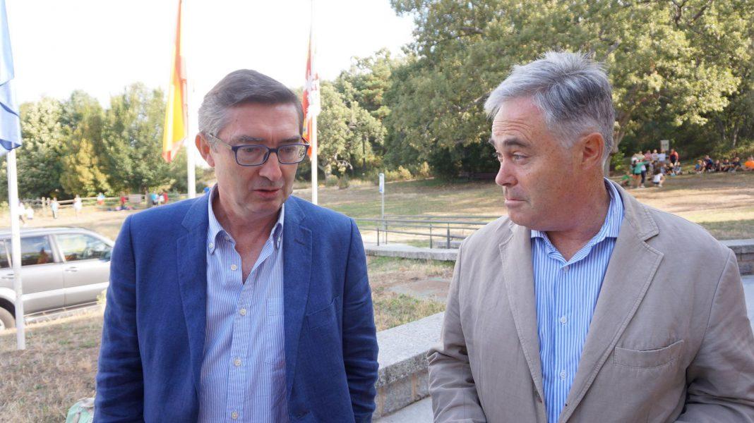 José Ángel Arranz hizo las declaraciones junto a Luis del Olmo en el CENEAM.