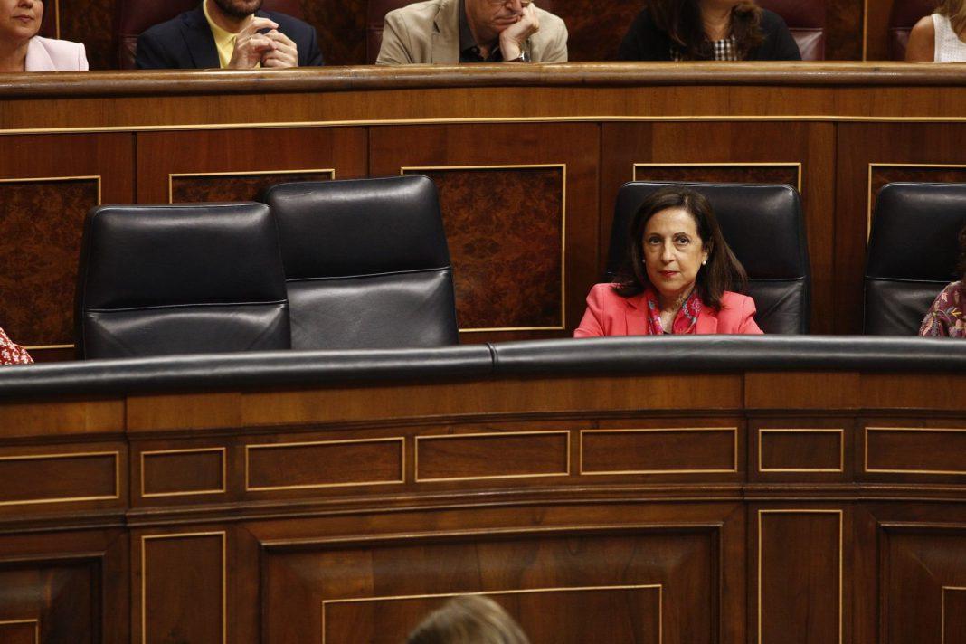 Sesión de control al Gobierno, ayer en el Congreso de los diputados.