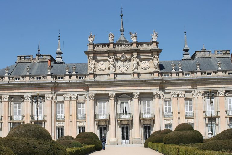 Las Fuentes de Palacio Real de La Granja celebran el 12 de octubre