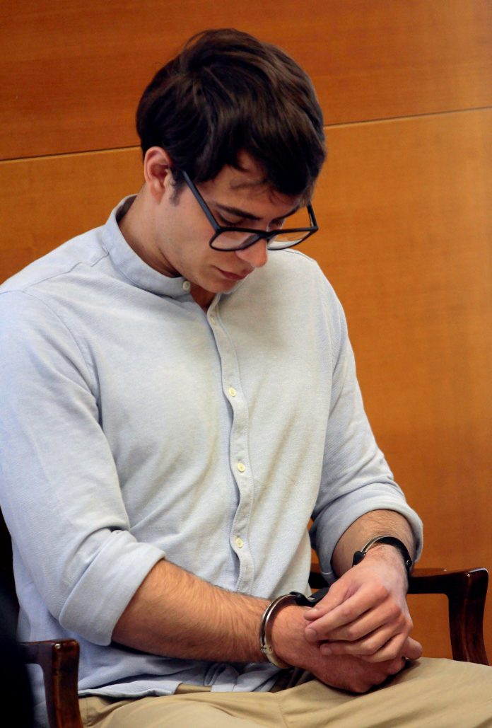 Patrick Nogueira durante la celebración del juicio.