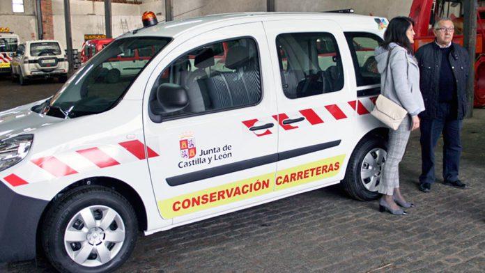 La Consejería de Fomento prevé destinar seis nuevos todo-terrenos a la provincia de Segovia en 2019.