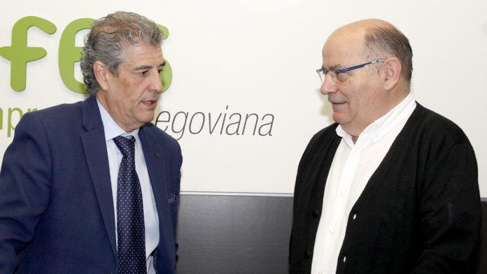 Manuel Muñoz (i) y Valentín Bravo presentaron la campaña.