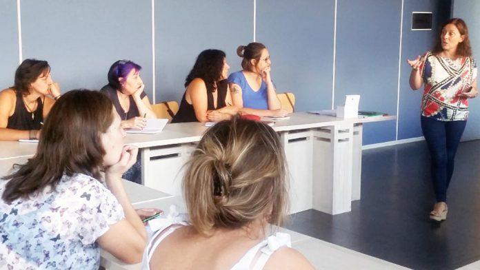 Participantes en un curso de Segovia Sur. / el adelantado
