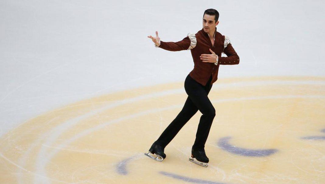 El patinador madrileño, Javier Fernández.