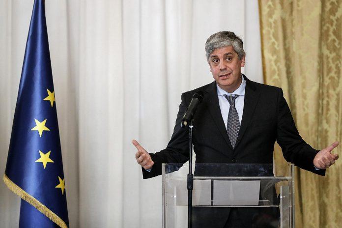 El presidente del Eurogrupo, Mario Centeno.