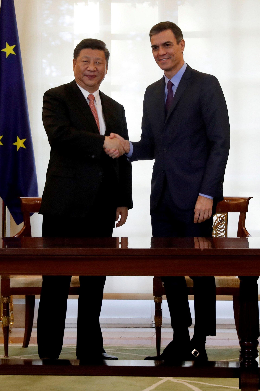 Sánchez y Xi Jinping abogan por impulsar las relaciones económicas | El Adelantado de Segovia