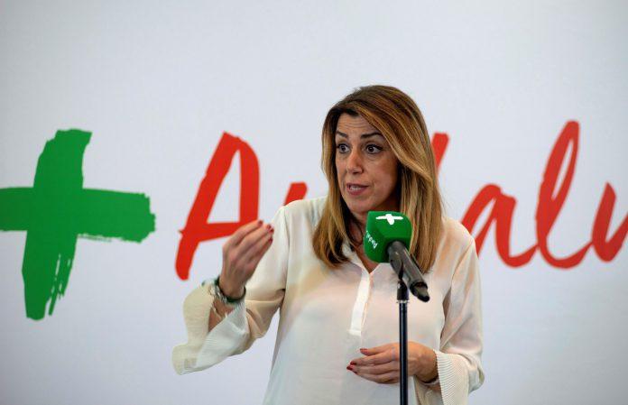 La presidenta de la Junta de Andalucía y candidata a la reelección, Susana Díaz.