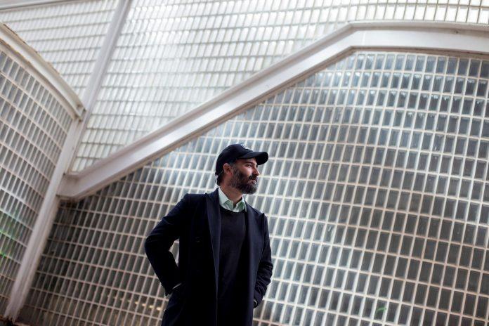 El músico Ramón Rodríguez 'The New Raemon' durante la presentación de su nuevo trabajo de estudio.