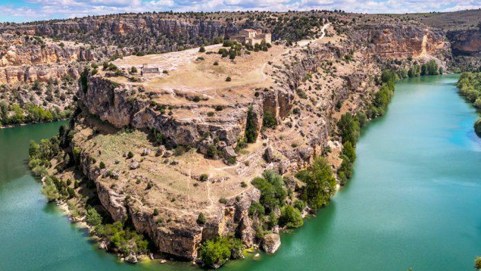 Una panorámica espectacular de las Hoces del río Duratón, que se podrán contemplar en todo el mundo. / kamarero