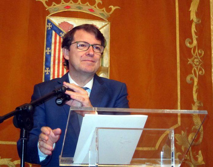 El alcalde de Salamanca y presidente del PP de Castilla y León, Alfonso Fernández Mañueco.