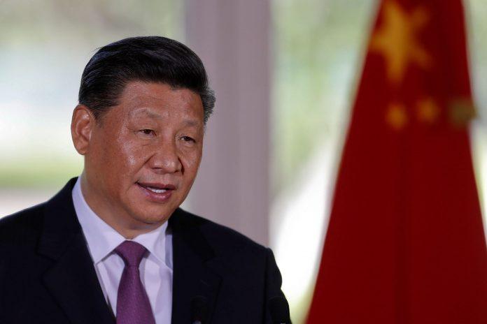 El presidente chino Xi Jinping durante una rueda de prensa en Buenos Aires.