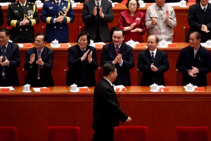 """El presidente chino durante el 40 aniversario de la campaña de """"reforma y apertura"""" iniciada por Deng Xiaoping."""