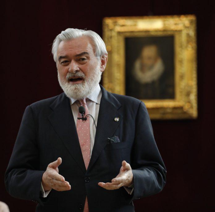 El hasta ahora presidente de la RAE, Darío Villanueva.