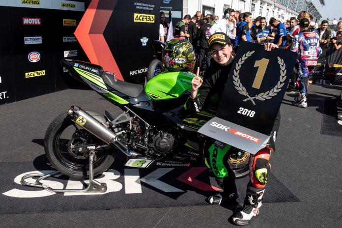 Ana Carrasco se convirtió en la primera mujer que gana un Mundial de Velocidad de motociclismo.