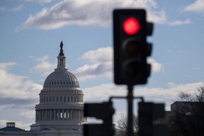 Imagen del Congreso, donde la falta de acuerdo presupuestario ha llevado al cierre parcial de varias agencia federales.