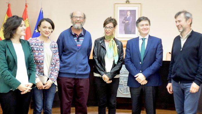 Los ganadores de las becas de investigación en la anterior convocatoria.