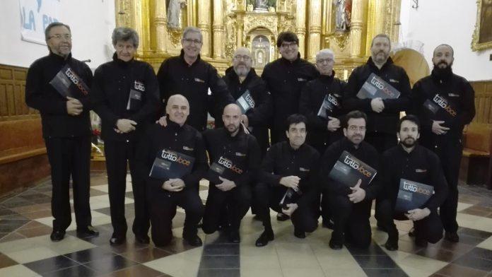 El conjunto musical segoviano Tutto Voce en la iglesia parroquial de Cantimpalos.