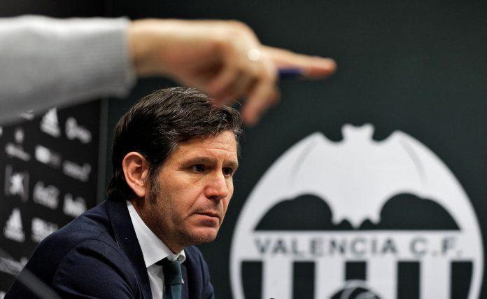 El entrenador del Valencia, Marcelino García Toral, en rueda de prensa antes del partido frente al Valladolid.