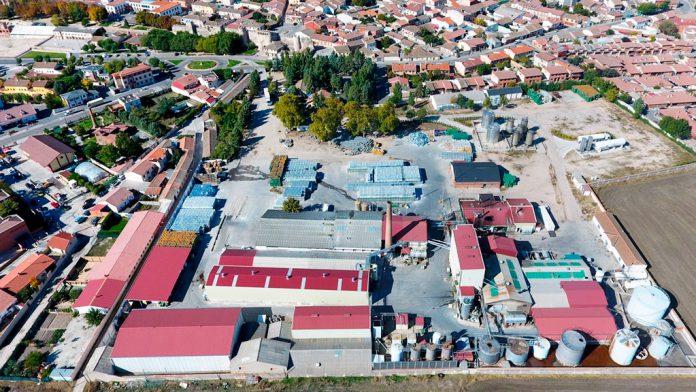 Vista panorámica de Coca, una de las localidades con más producción de resina de la provincia. / el adelantado
