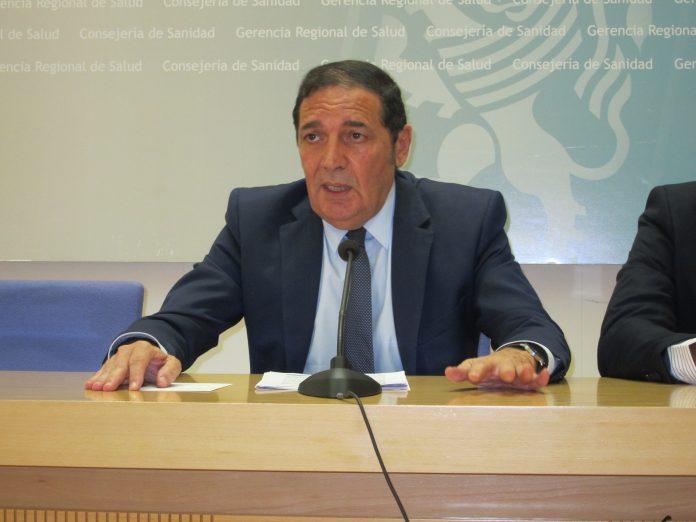 El consejero de Sanidad, Antonio María Sáez Aguado.