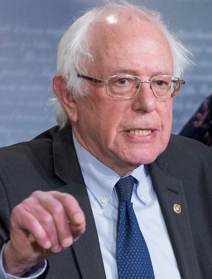 Bernie Sanders se presenta para hacer realidad sus ideas progresistas.