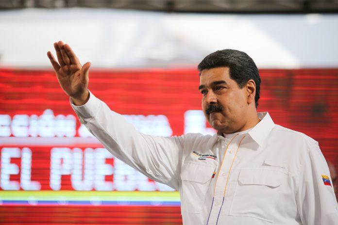 Nicolás Maduro, durante un acto de gobierno en el complejo agro-industrial Ezequiel Zamora en San Francisco de Yare.