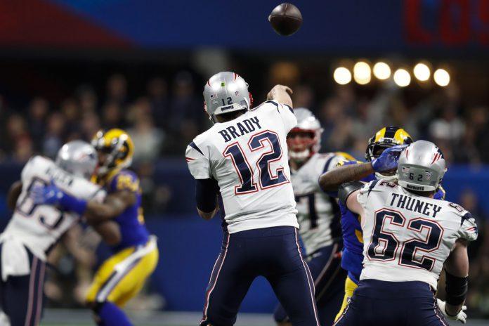 Tom Brady, más apagado de lo habitual por el carácter defensivo del partido, se confirmó como uno de los mejores jugadores de la historia de la NFL.