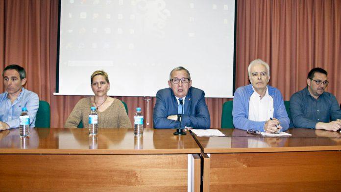 El IES Giner de los Ríos acogió la reunión con los directores de los centros educativos de la provincia.