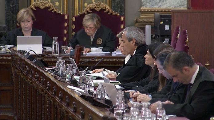 Nueva jornada de declaración de agentes de la Benemérita en el Supremo.
