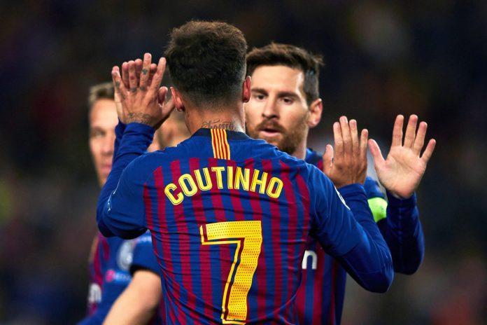 Coutinho y Messi fueron dos de los jugadores más destacados en la victoria del Barça ante el Olympique de Lyon.
